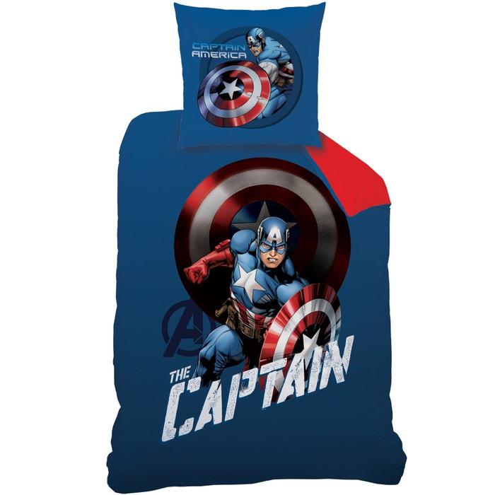 Image Parure imprimée, pur coton, Avengers Mission. AVENGERS