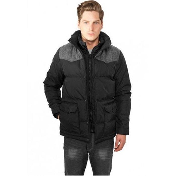 Veste d hiver URBAN CLASSICS Nylon Oxford Noir - Gris Capuche URBAN CLASSICS  image 0 4c313ad83e0f