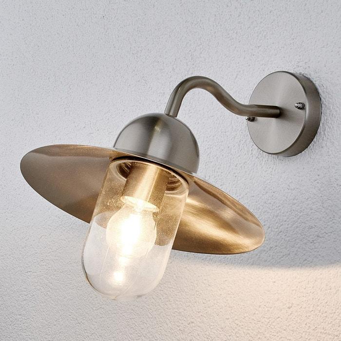 applique d 39 ext rieur femi en inox inox transparent lampenwelt la redoute. Black Bedroom Furniture Sets. Home Design Ideas