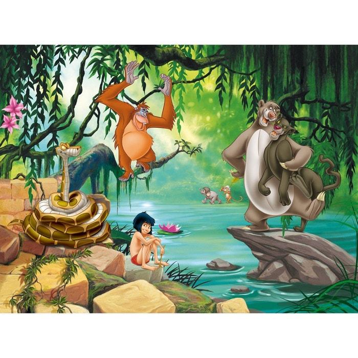 Papier Peint Xxl Le Livre De La Jungle Disney 360x255 Cm Multicolor