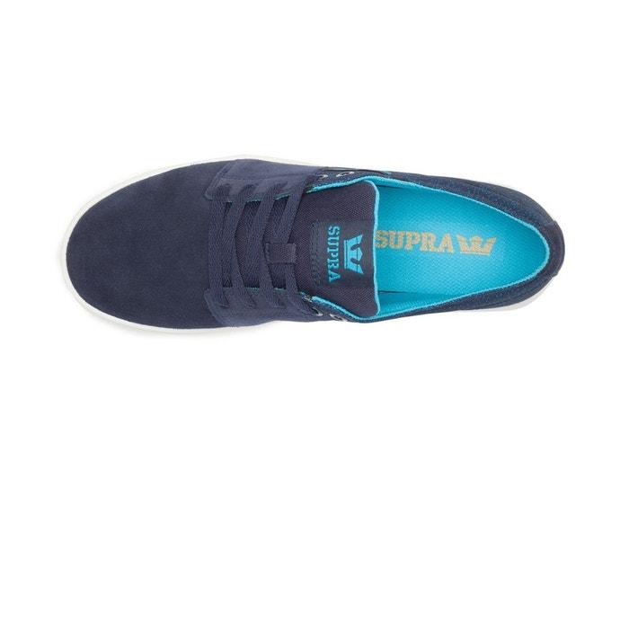 Chaussures stacks ii navy/white bleu Supra
