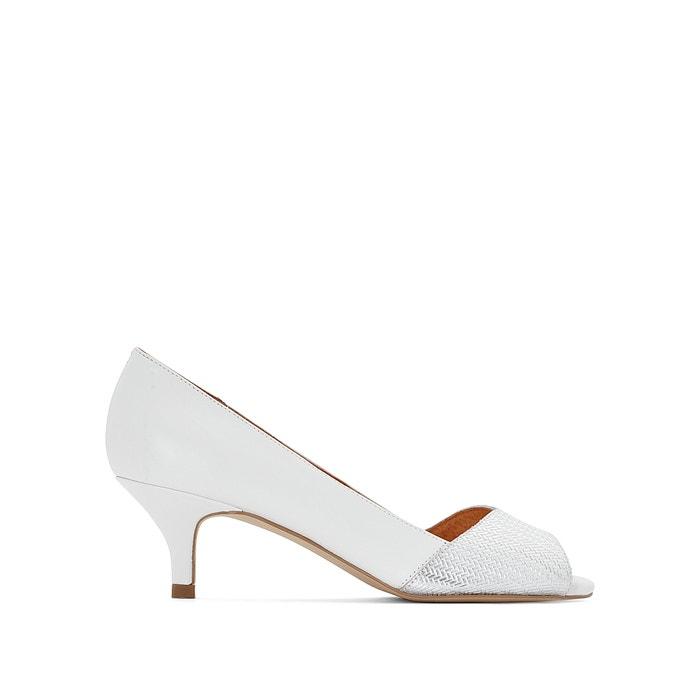 Zapatos de tacón, de piel bicolor  ANNE WEYBURN image 0