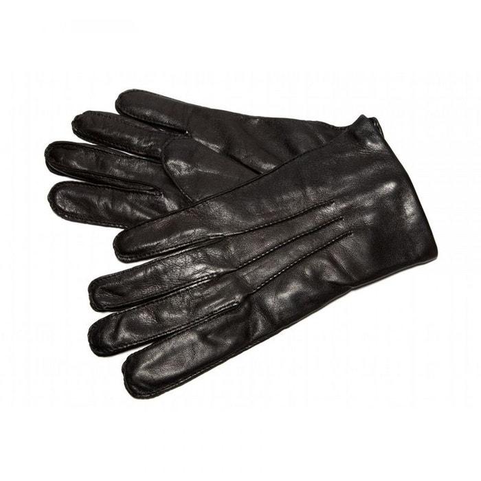 ad8acf6e256e3 Gant cuir simon carter, noir, cuir nappa, intérieur cachemire et laine noir Simon  Carter   La Redoute
