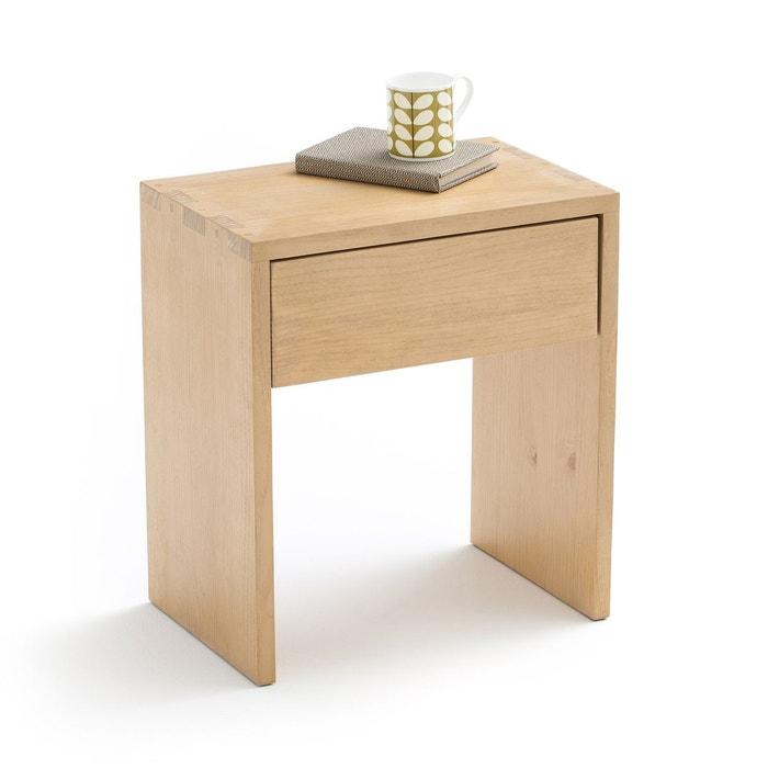 chevet 1 tiroir crueso la redoute interieurs - Table De Chevet Tiroir