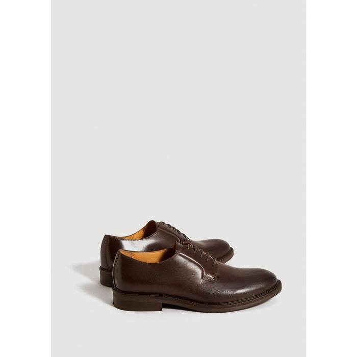Chaussures derby cuir Mango Man