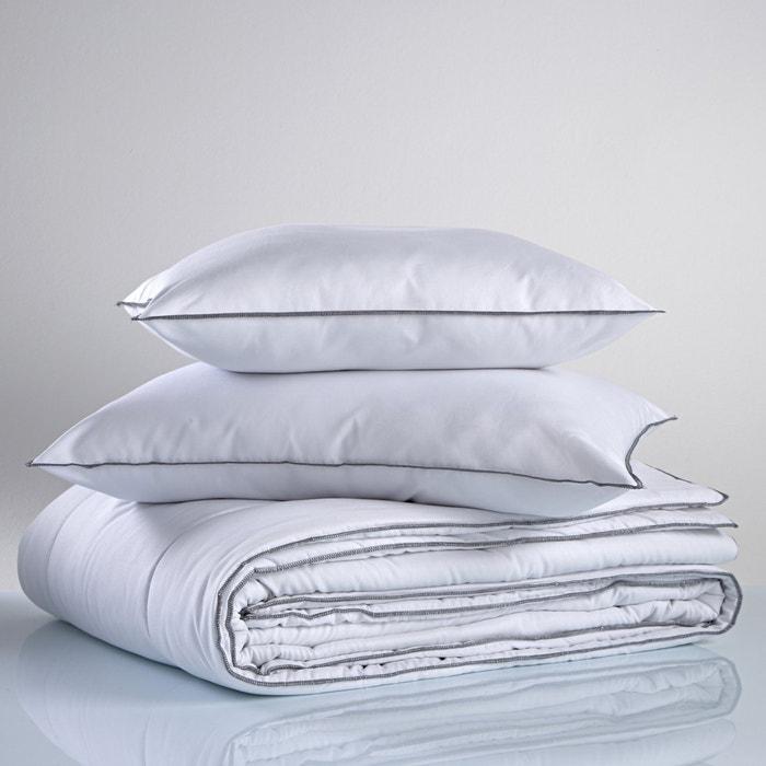 couette synth tique 300g m2 100 polyester la redoute interieurs blanc la redoute. Black Bedroom Furniture Sets. Home Design Ideas