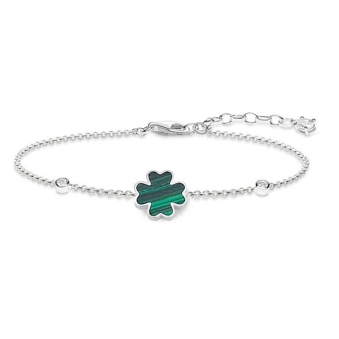 Bracelet argenté, vert, blanc Thomas Sabo | La Redoute