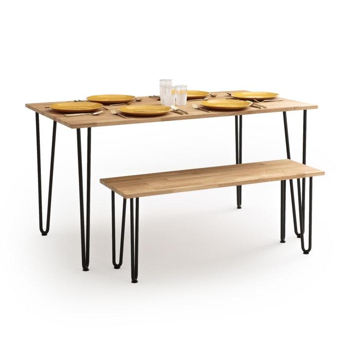 Table A Manger 4 A 6 Personnes Adza La Redoute Interieurs Chene