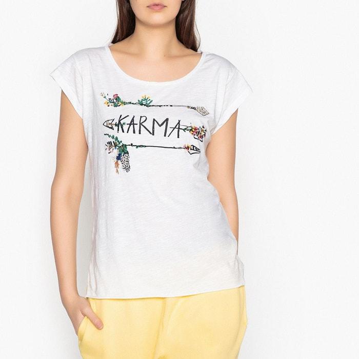 Leon and Harper Tee shirt à motif appliqué TAZA Vente 100% Authentique Sortie À La Recherche De Meilleur Prix De Vente Pas Cher Sites De Dédouanement cd2CDcrlGu