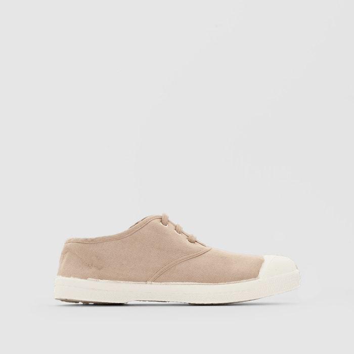 afbeelding Basic sneakers met veters BENSIMON