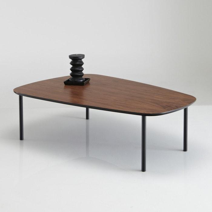 Image Watford Coffee Table with Walnut Veneer La Redoute Interieurs