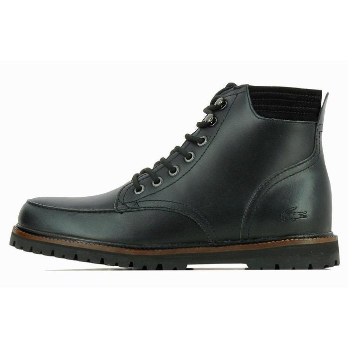 Boots montbard 316 cuir  noir Lacoste  La Redoute