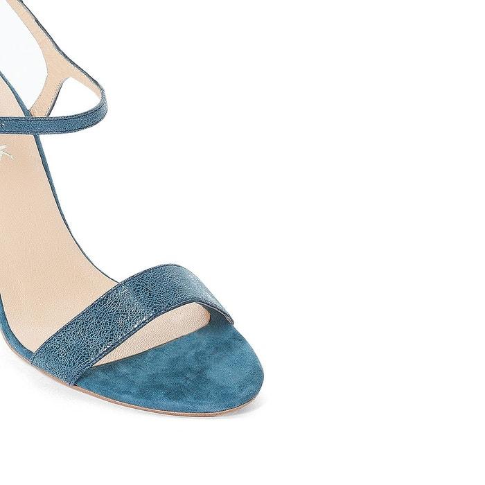 Sandales cuir bleu marine Jonak