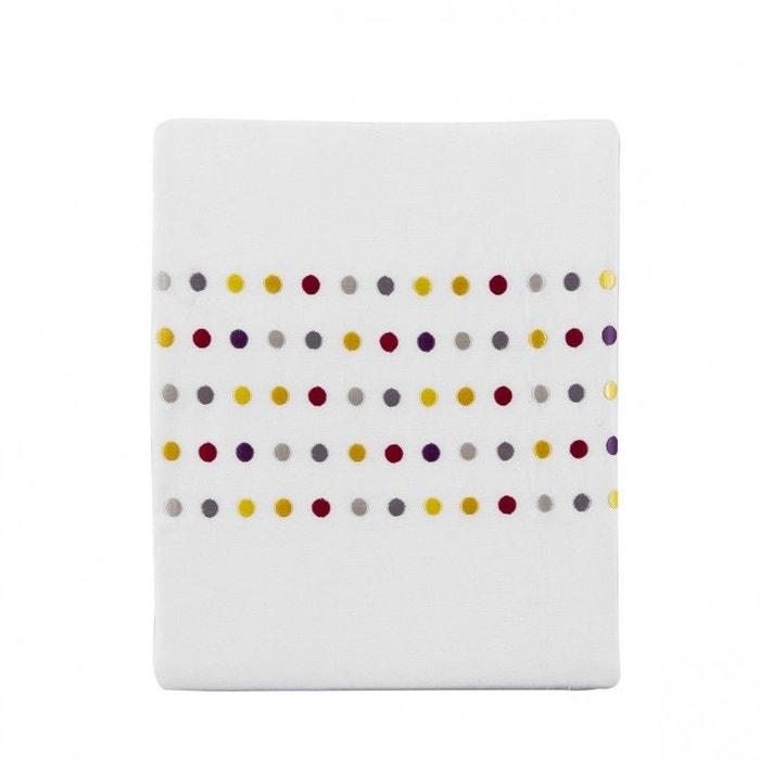 drap plat v n zia en percale de coton multicolore multicolore essix la redoute. Black Bedroom Furniture Sets. Home Design Ideas