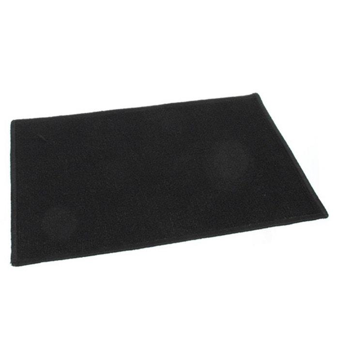Tapis Uni 50 X 80 Cm Noir Noir Clean House La Redoute