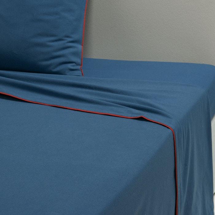 drap plat coton flanelle erwin la redoute interieurs la redoute. Black Bedroom Furniture Sets. Home Design Ideas