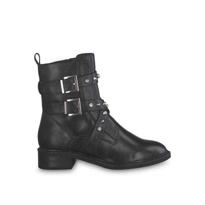 Boots in leer met bandjes Manisa  TAMARIS image 0