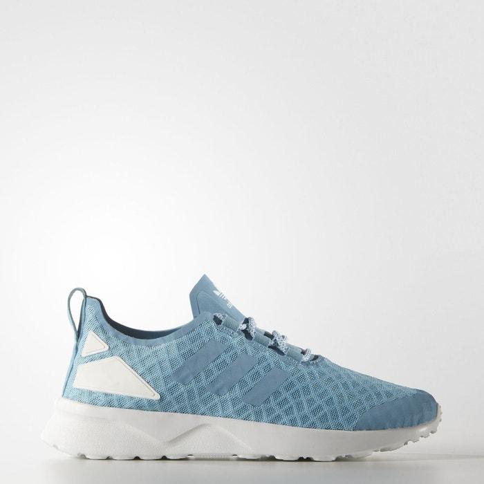 separation shoes f2f73 5c084 Chaussure zx flux adv verve blanc Adidas Originals   La Redoute