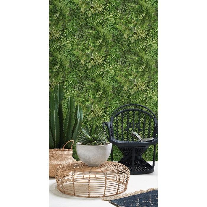papier peint rideau v g tal vert koziel la redoute. Black Bedroom Furniture Sets. Home Design Ideas