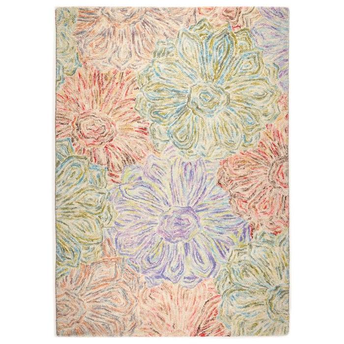 Tapis salon wool design vert theko la redoute - La redoute tapis salon ...