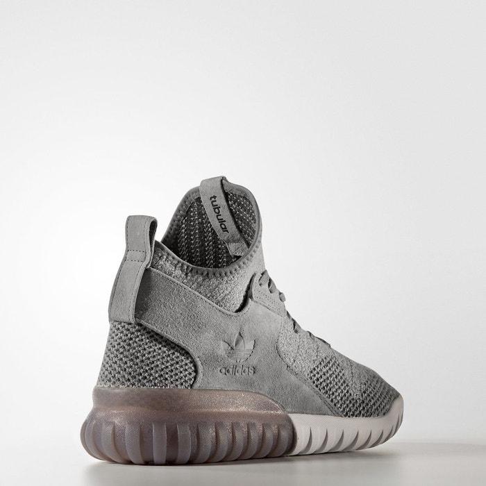 Baskets montantes tubular x pk gris Adidas
