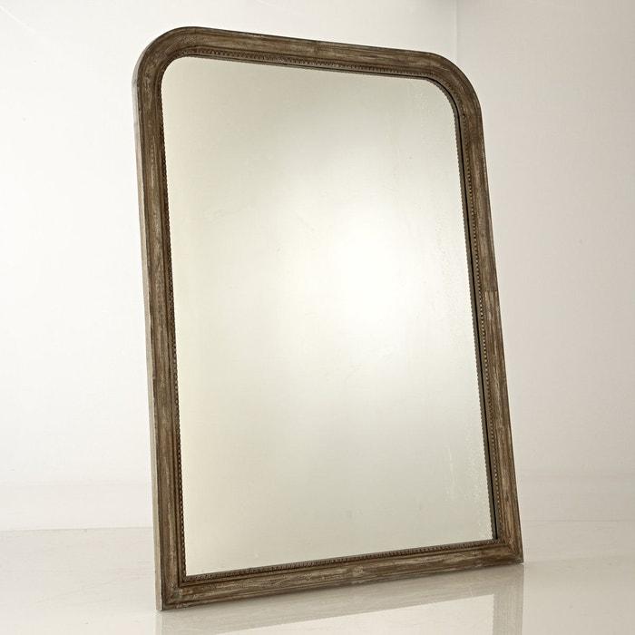 Miroir manguier massif afsan la redoute interieurs la for Miroirs rectangulaires