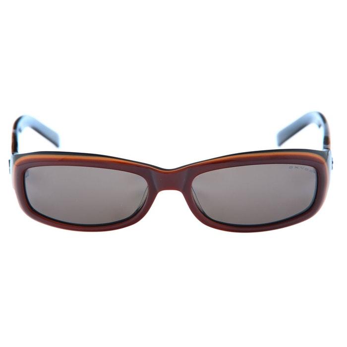 Lunettes de soleil femme glaze2-byw-65 marron   noir Oxydo   La Redoute 503fbb6d1906