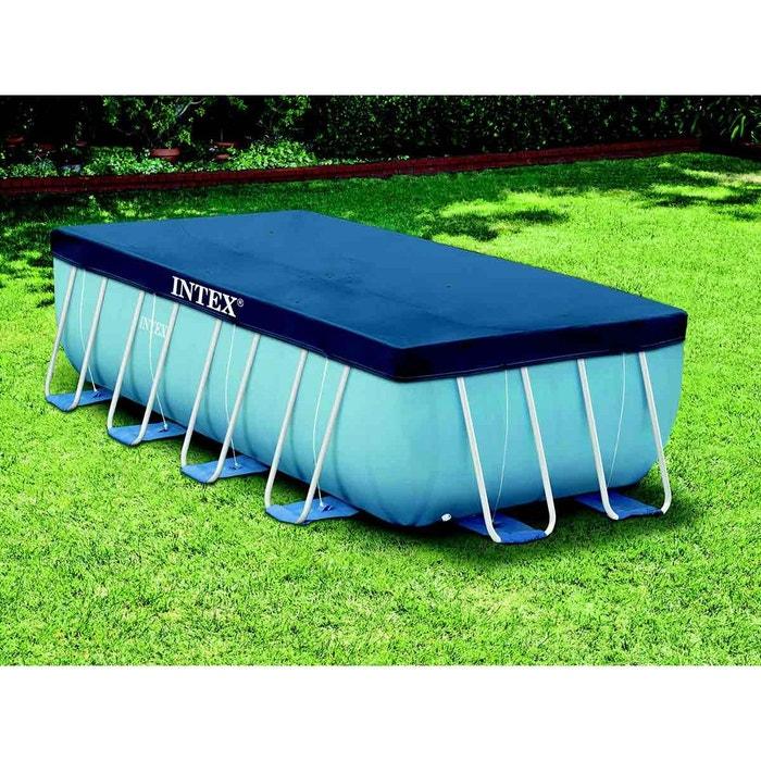 b che de protection pour piscine tubulaire rectangulaire 4 00 x 2 00 m intex intex la redoute. Black Bedroom Furniture Sets. Home Design Ideas