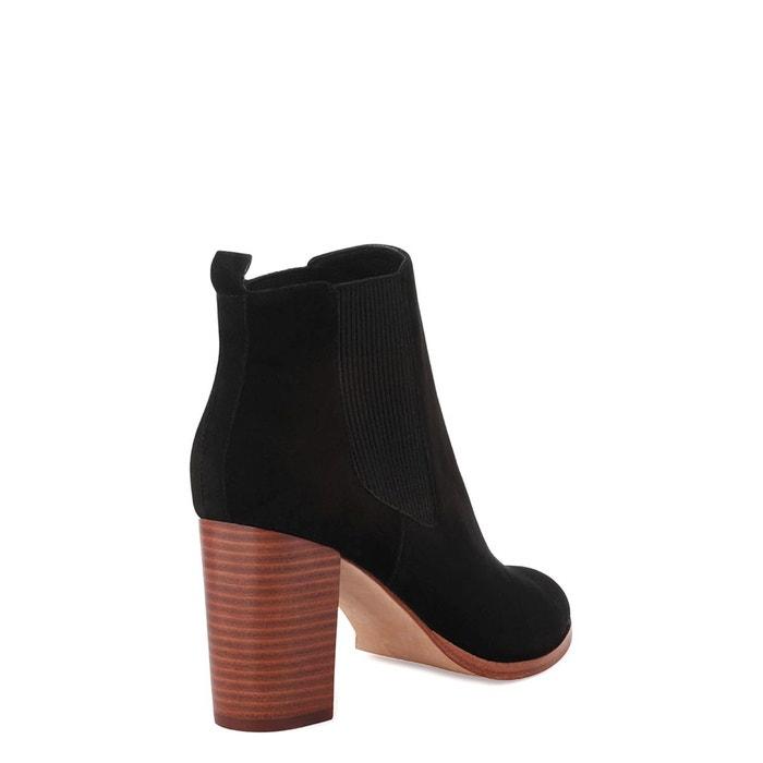 velours Jedini cuir COSMOPARIS Vel Boots wRUXHxWqxZ