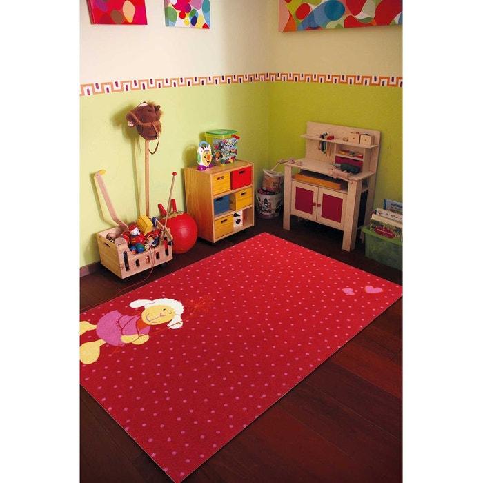tapis schnuggi rose tapis enfants 160 x 225 cm sigikid. Black Bedroom Furniture Sets. Home Design Ideas