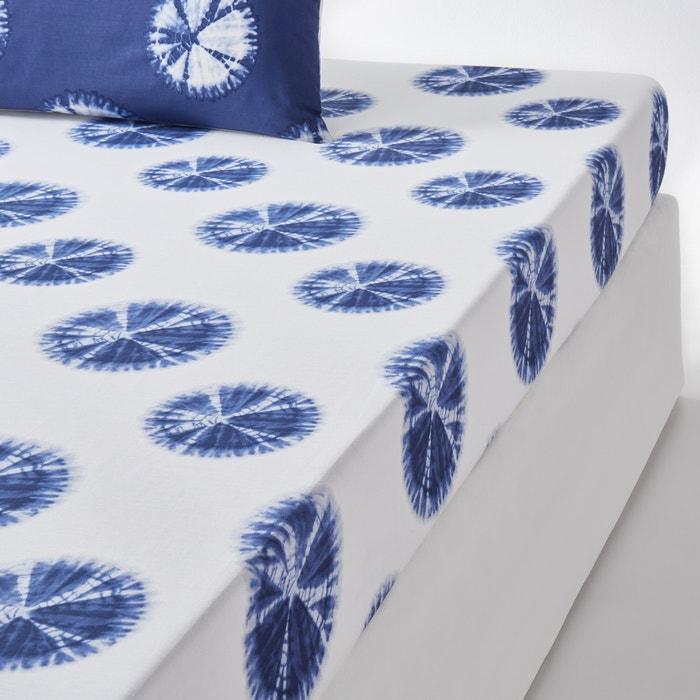 Akira printed fitted sheet la redoute interieurs la redoute - La redoute interieurs ...