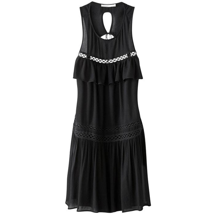 Ärmelloses Kleid mit Volants, rückenfrei  SEE U SOON image 0