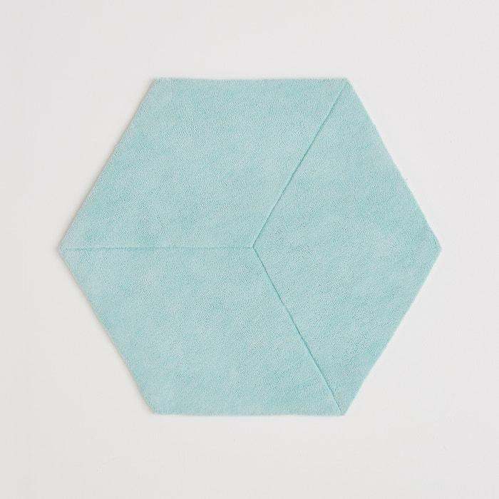 tapis hexagonal pur coton effet 3d camino la redoute. Black Bedroom Furniture Sets. Home Design Ideas