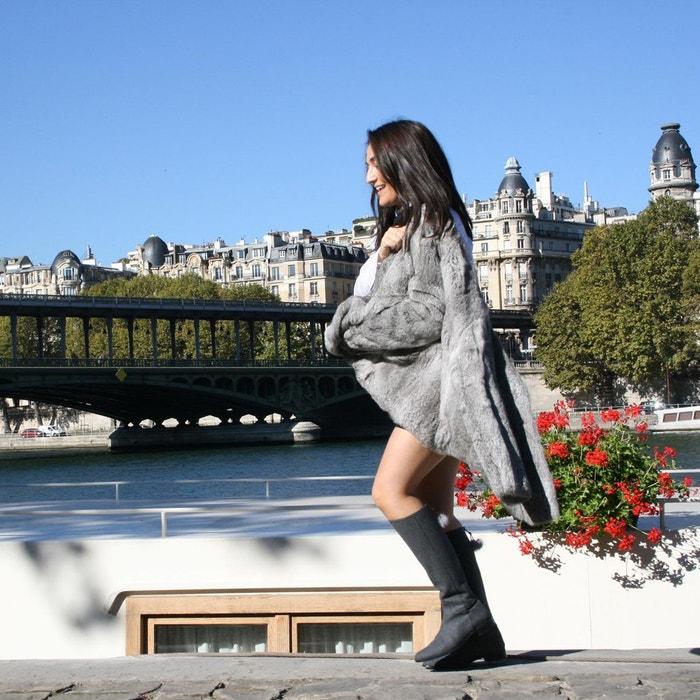 Bottes kim rouge Exclusif Paris