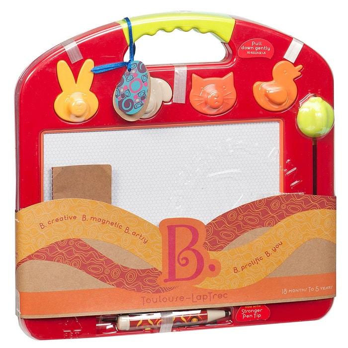Ardoise magique : toulouse lap trec tomato B.Toys | La Redoute