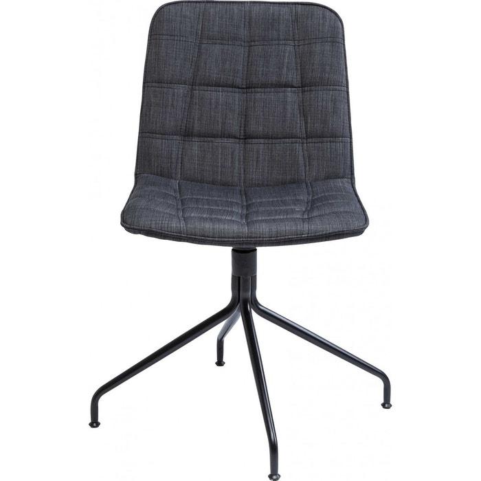 chaise pivotante city spirit grise kare design couleur. Black Bedroom Furniture Sets. Home Design Ideas