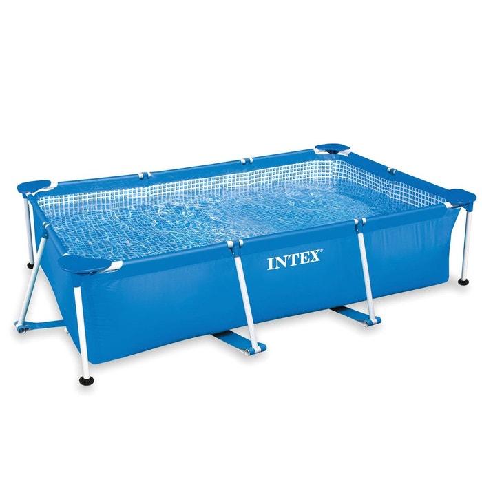 piscine tubulaire rectangulaire 2 60 x 1 60 x 0 65 m. Black Bedroom Furniture Sets. Home Design Ideas