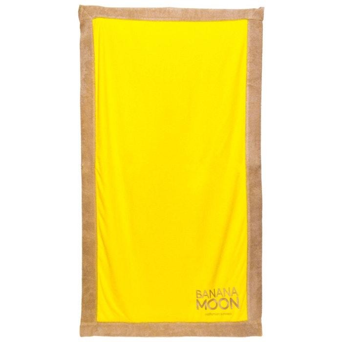 drap de plage towely lanza jaune jaune banana moon la redoute. Black Bedroom Furniture Sets. Home Design Ideas