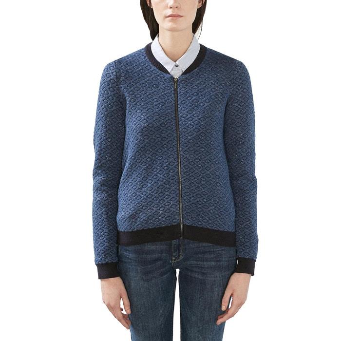 Image Zip-Up Jacquard Cardigan ESPRIT