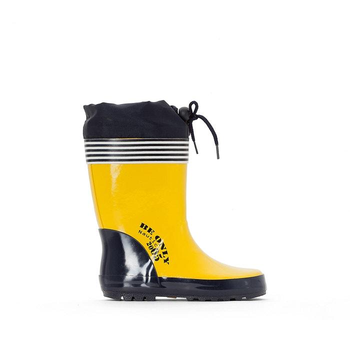 """Image """"Un Jour Je Serai Hero"""" Wellington Boots BE ONLY"""