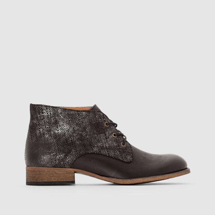 Boots en cuir à lacet Pluz  KICKERS image 0