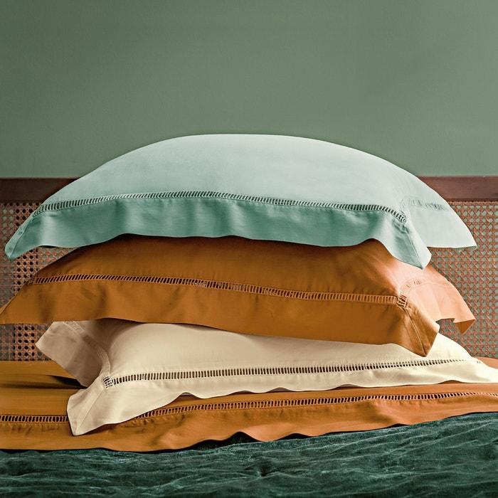 Autre image Taie d'oreiller ou de traversin, pur satin de coton lavé ,Constance TSF THE SOCIALITE FAMILY
