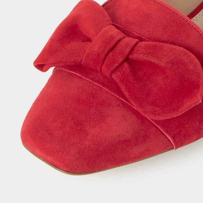 Chaussures plates à bout carré et n-ud - graciano Dune London