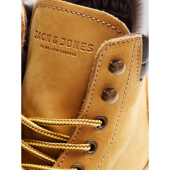 Boots stoke nubuck miel Jack & Jones