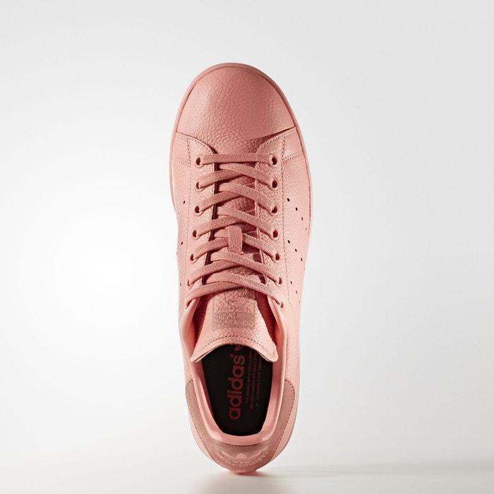 ... Baskets femme adidas stan smith cuir femme rose rose Adidas ...