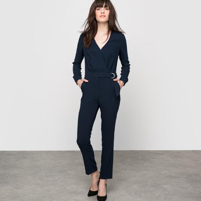 Image Jumpsuit with Cross over neckline atelier R