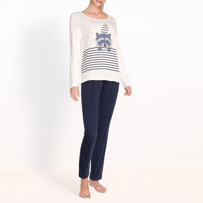 afbeelding Bedrukte pyjama La Redoute Collections