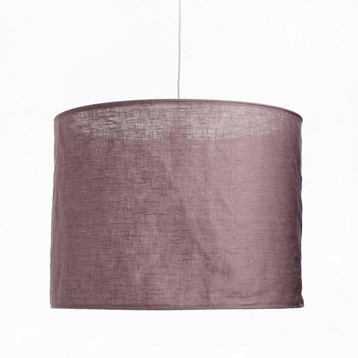suspension en lin froiss thade la redoute interieurs la redoute. Black Bedroom Furniture Sets. Home Design Ideas