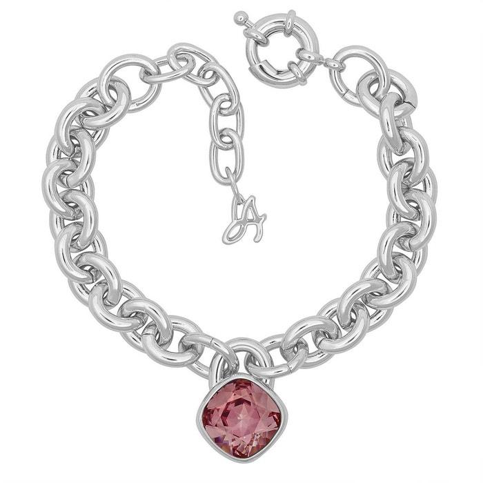 offres Images De Vente Bracelet adore brilliance en métal argenté rose Adore   La Redoute cPT5Pk