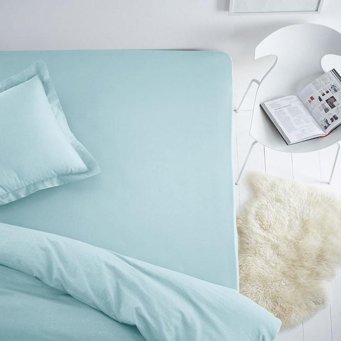 drap housse coton polyester pour matelas standard scenario la redoute. Black Bedroom Furniture Sets. Home Design Ideas